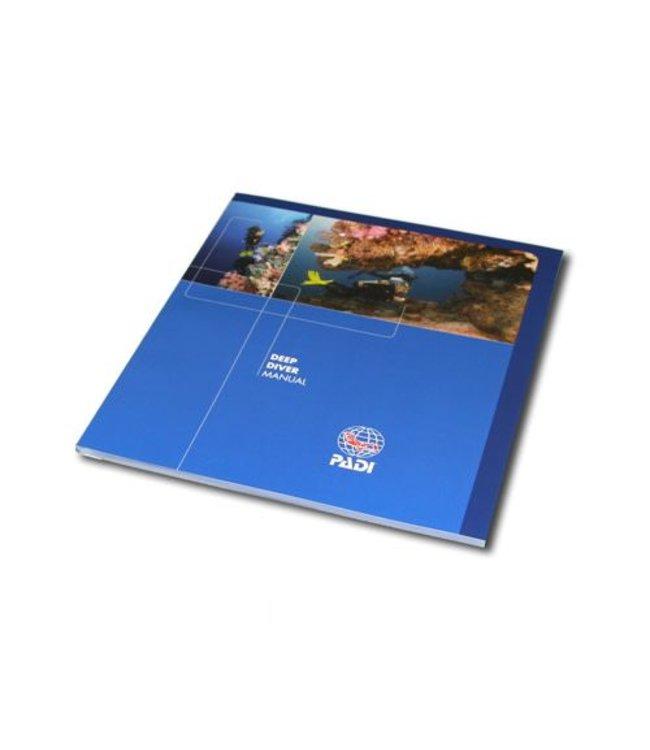 PADI Diep Duiken cursusboek