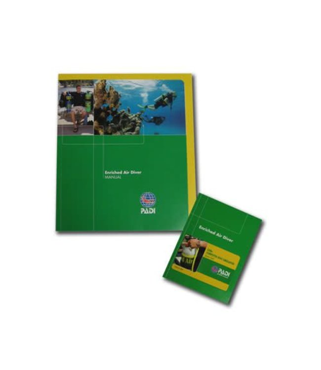 PADI Enriched Air Nitrox cursusboek