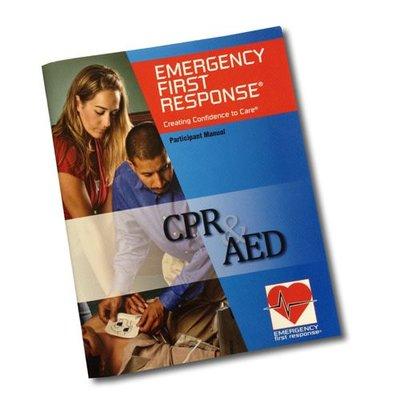 PADI EFR CPR & AED cursusboek