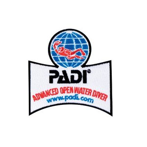 PADI Advanced Open Water Embleem