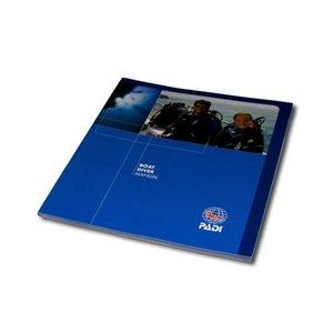 PADI Boot duiken cursusboek