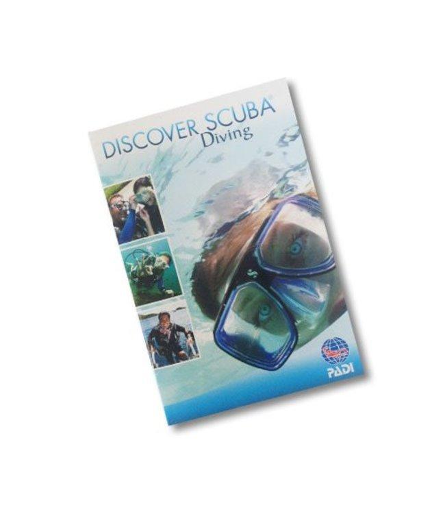 PADI Discover Scuba Diving (DSD) boekje
