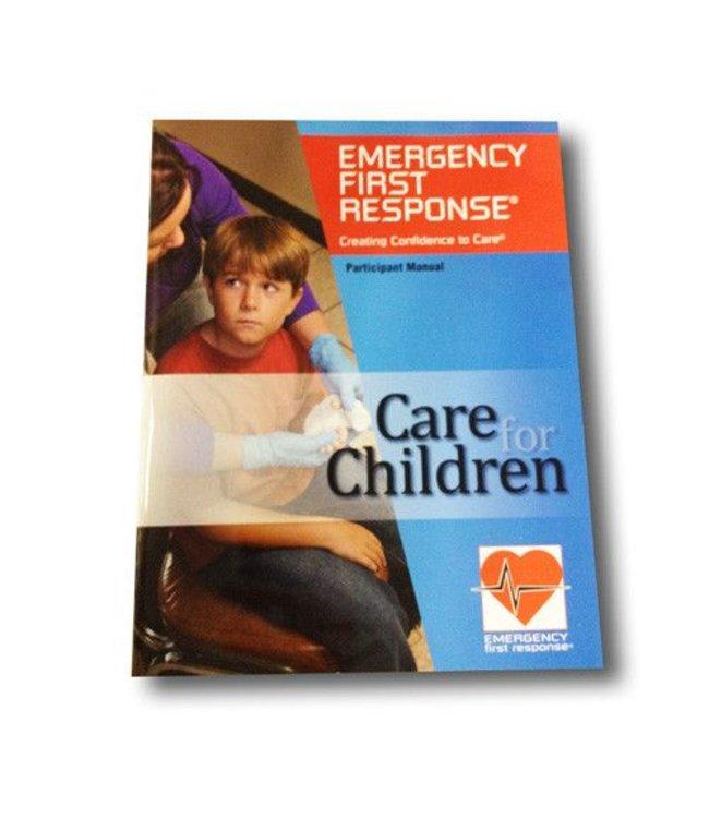 PADI EFR Care for Children cursusboek