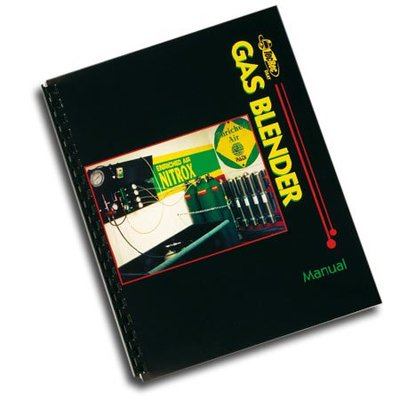 PADI Gas Blender cursusboek