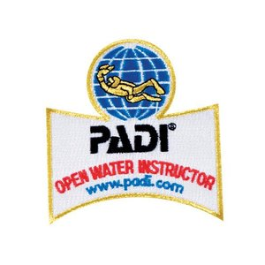 PADI Open Water Instructeur Embleem