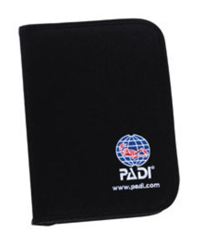 PADI logboek zwart