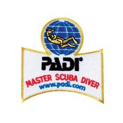 PADI Master Scuba Diver Embleem