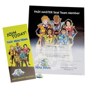 Padi Master Seal Team Recognition kit