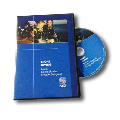 PADI Nacht duiken DVD