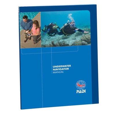 PADI Onderwater Navigatie cursusboek