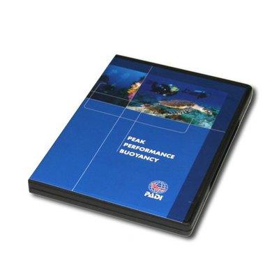 PADI Peak Performance Buoyancy PPB DVD