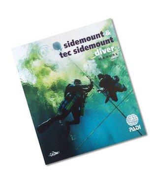 Padi PADI Sidemount cursusboek