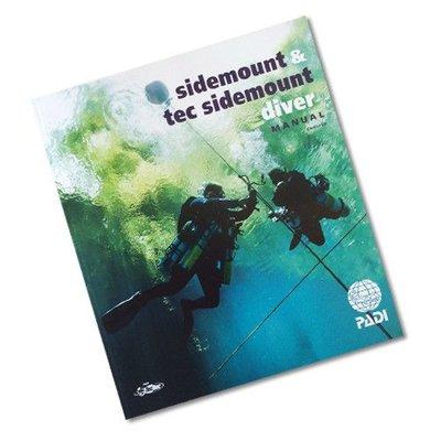 PADI Sidemount cursusboek