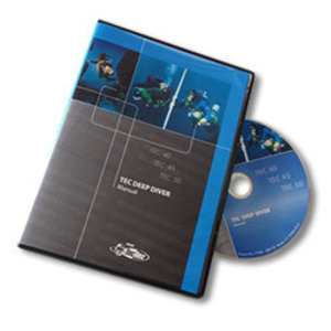 PADI Tec Deep cursusboek op DVD