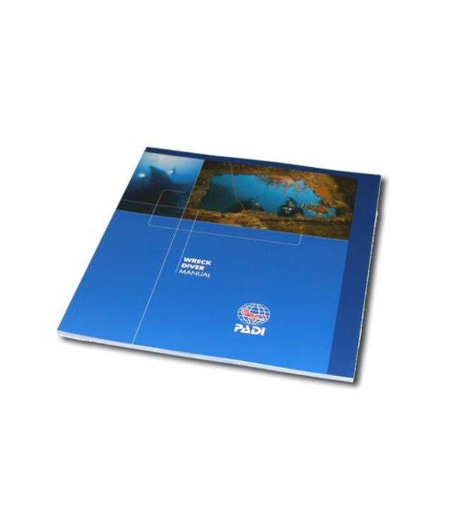 PADI Wrakduik cursusboek