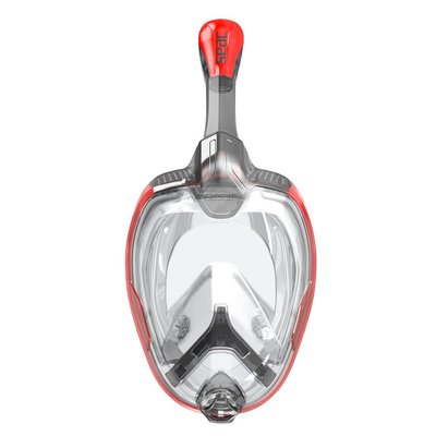 Seac Unica Snorkelmasker Rood-Zwart