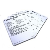PADI Cue Cards Advanced Open Water