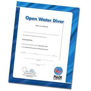 PADI Certificaat Open Water Diver