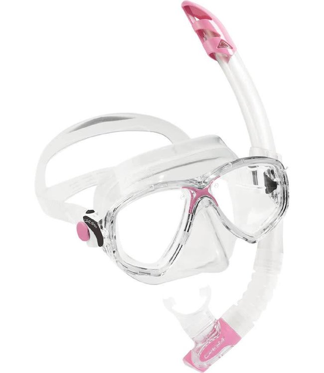 Cressi Marea VIP Snorkelset Roze