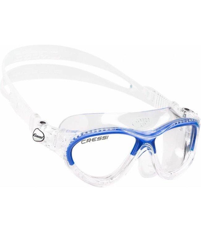 Cressi Mini Cobra Junior Zwembril Blauw