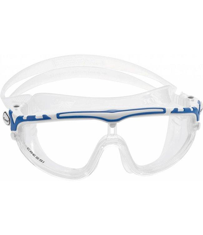 Cressi Skylight Zwembril Wit-Blauw