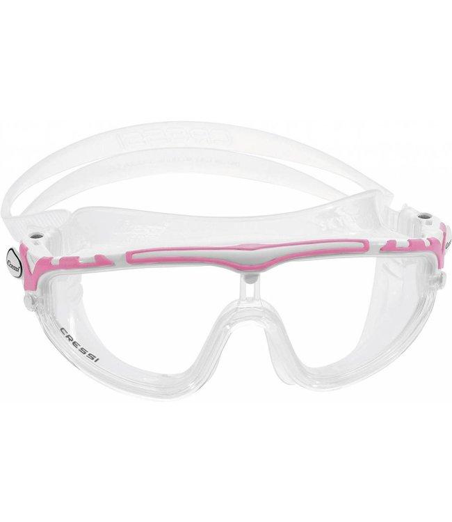 Cressi Skylight Zwembril Wit-Roze