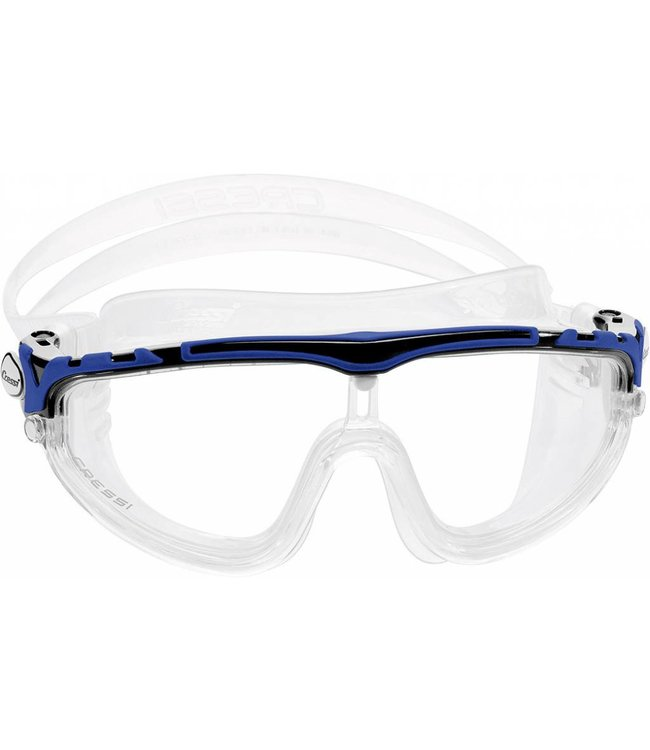 Cressi Skylight Zwembril Zwart-Blauw