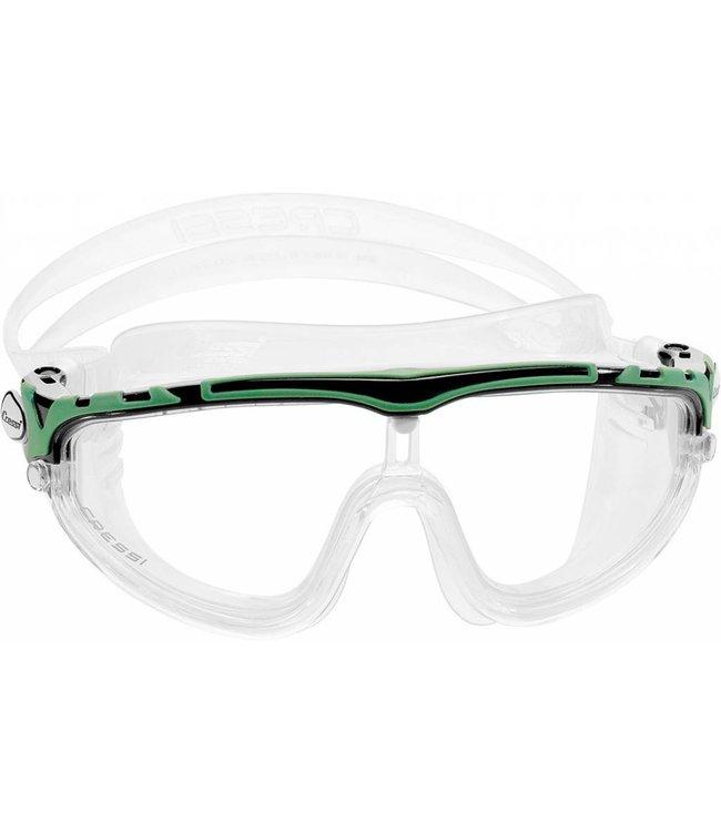 Cressi Skylight Zwembril Zwart-Groen