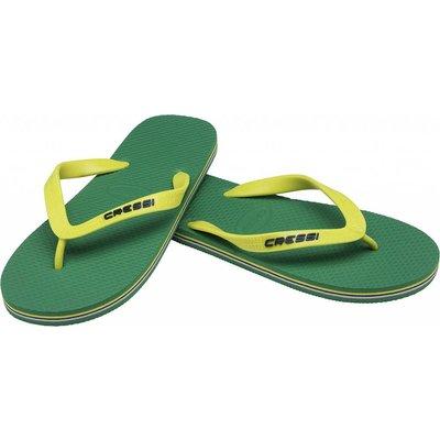 Cressi Beach Flip Flops Groen-Geel