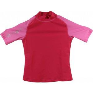Aqualung Rash Guard Kort Junior Roze