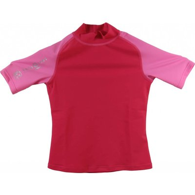 Aqualung Rash Guard Kort Junior Roze