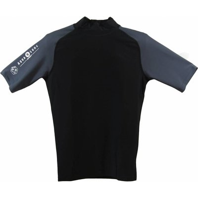 Aqualung Rash Guard Kort Heren Zwart