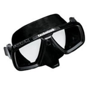 Aqualung Look Zwart Masker