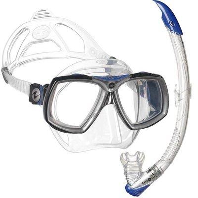 Aqualung Look 2 Snorkelset Blauw