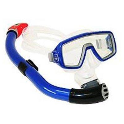 Aqualung Ventura junior snorkelset Blauw
