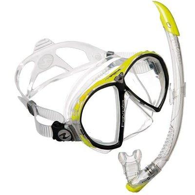 Aqualung Favola Snorkelset Geel
