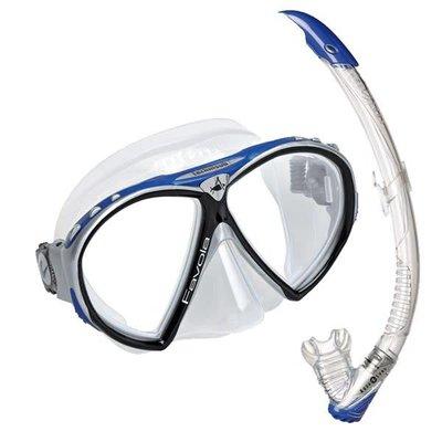 Aqualung Favola Snorkelset Blauw