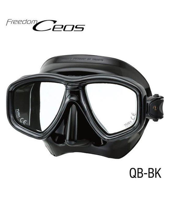 Tusa Freedom Ceos Zwart Masker