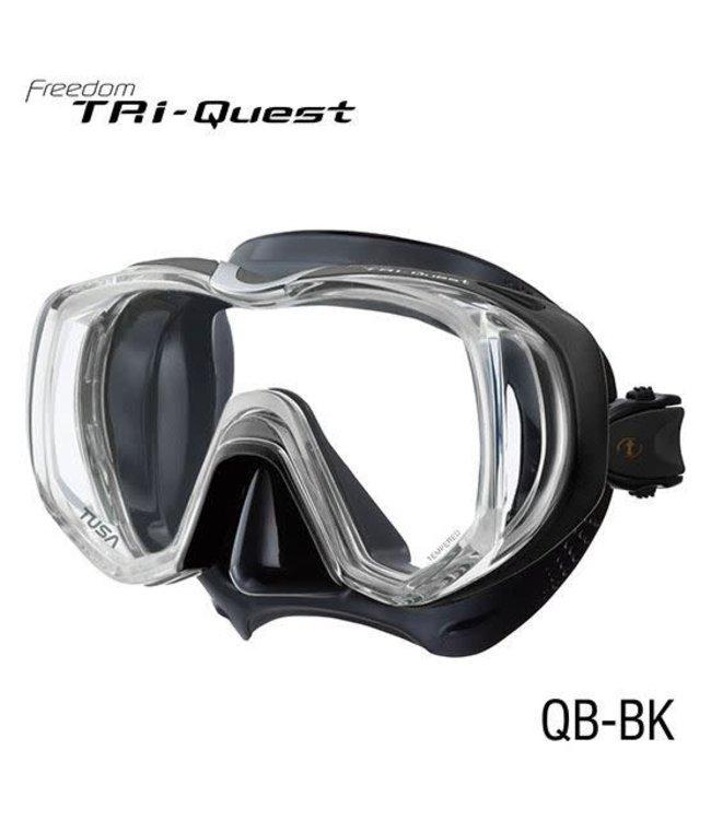 Tusa Tri-Quest Zwart Masker
