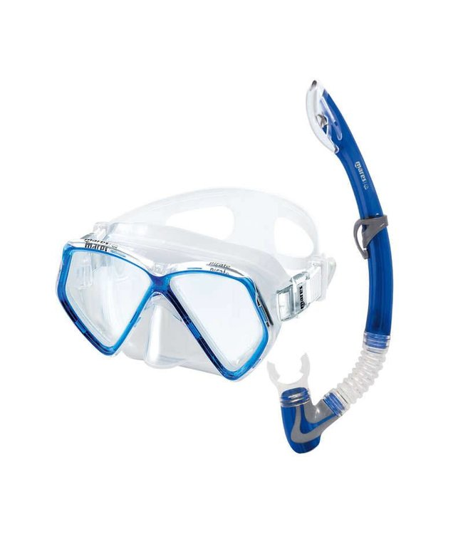 Mares Pirate junior snorkelset Blauw