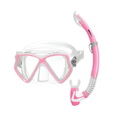 Mares Pirate junior snorkelset Roze
