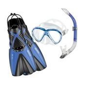 Mares X-One Marea snorkelset Blauw