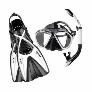 Mares X-One Marea snorkelset Wit