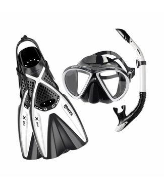 Mares Mares X-One Marea snorkelset Wit
