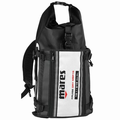 Mares Bag Cruise Dry MBP15 Zwart-Wit