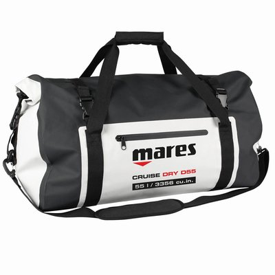 Mares Bag Cruise Dry D55 Zwart-Wit