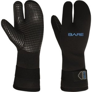 Bare 7mm Three Finger Handschoen