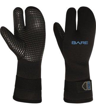 Bare Bare 7mm Three Finger Handschoen