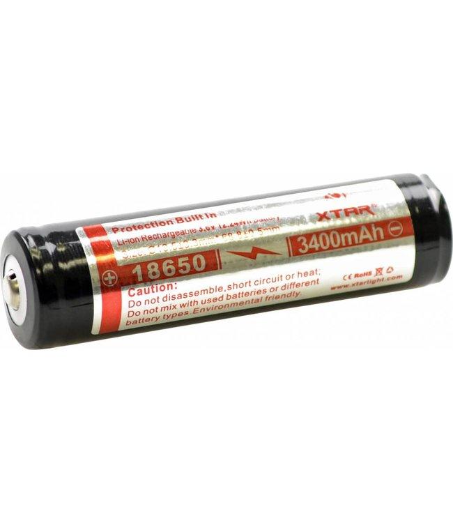 Sealife XTAR Batterij Sea Dragon Mini SD 900/SD650 (3.6V/3400mAh)
