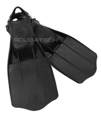 Tecline Tecline Jetstream Fins Zwart